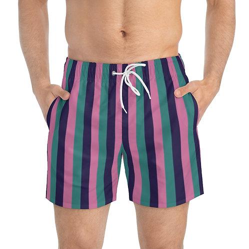 Striped Fellowship Swim Trunks