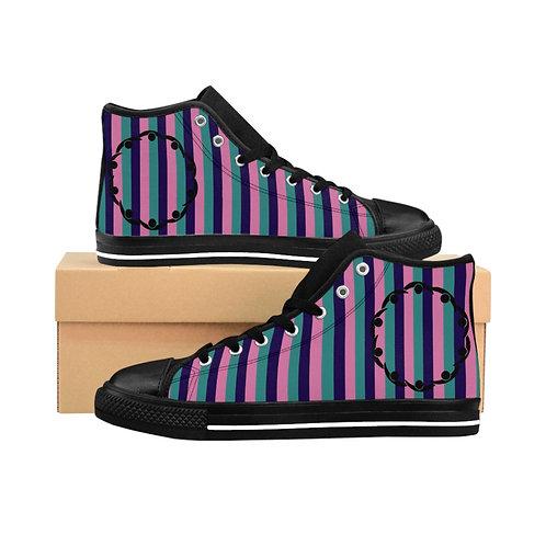Fellowship Stripe High-top Sneakers