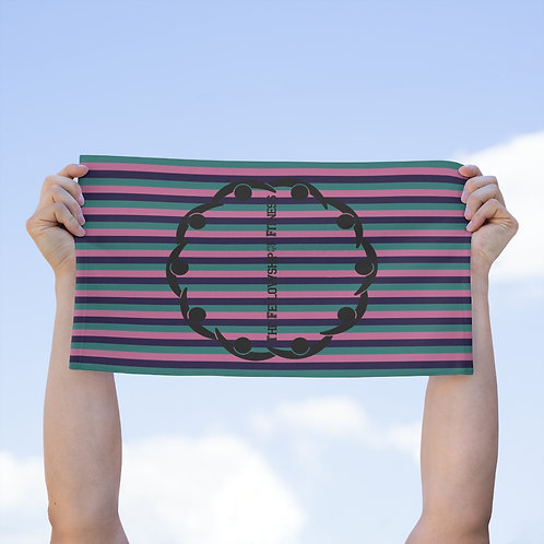 Striped Fellowship Towel