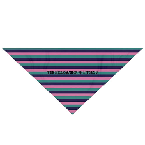 Fellowship Stripe Pet Bandana