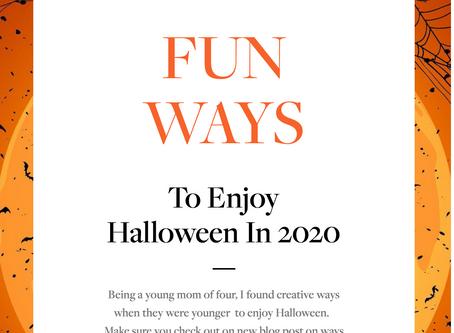 Celebrate Halloween 2020 Style