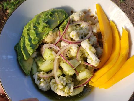 Cauliflower Aguachile