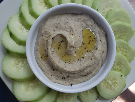 Garlic & Herb Dip (Chickpea/Nut FREE)