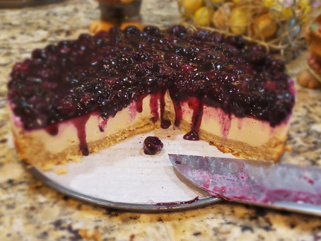 Blueberry Lemon Cream Pie