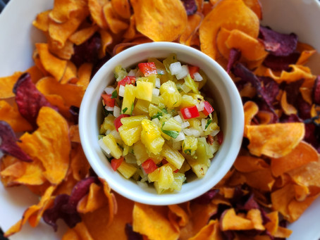 Pineapple Green Chile Salsa