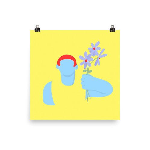 "12"" x 12"" Florist Poster"