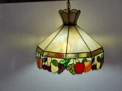 Candeeiro Vitral Plafon Tiffany 14
