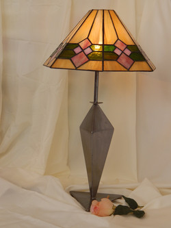 Candeeiro Vitral Mesa Tiffany 8