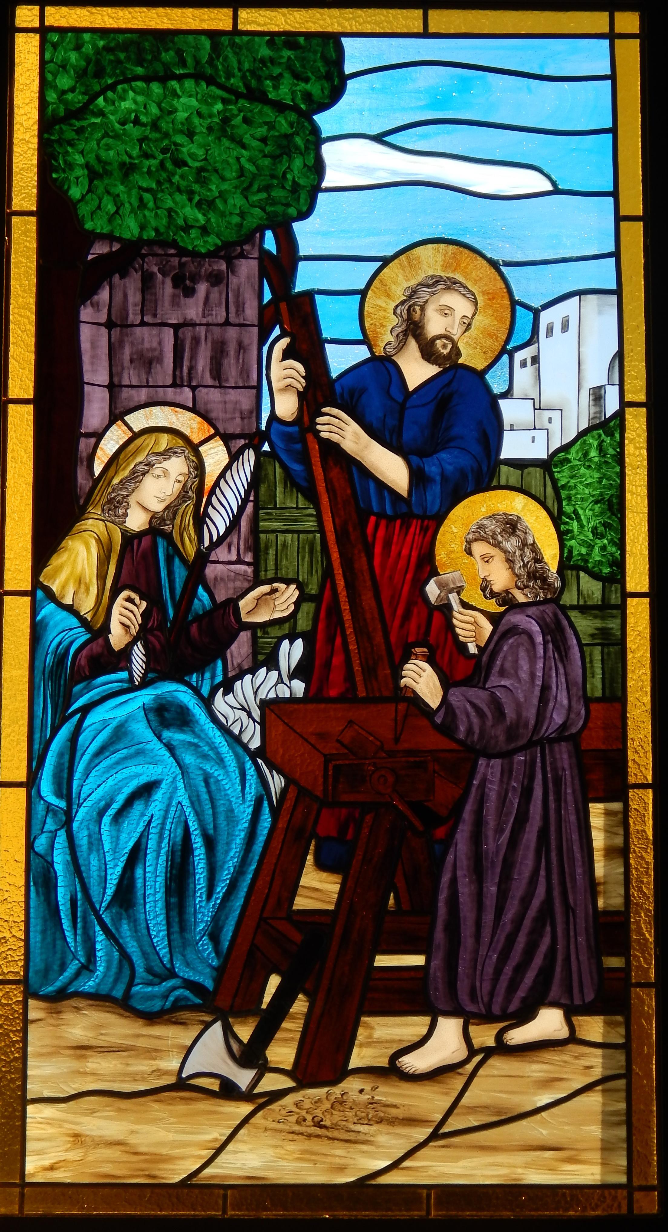 Vitral Sagrada Família
