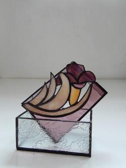 Caixa Vitral Tulipa