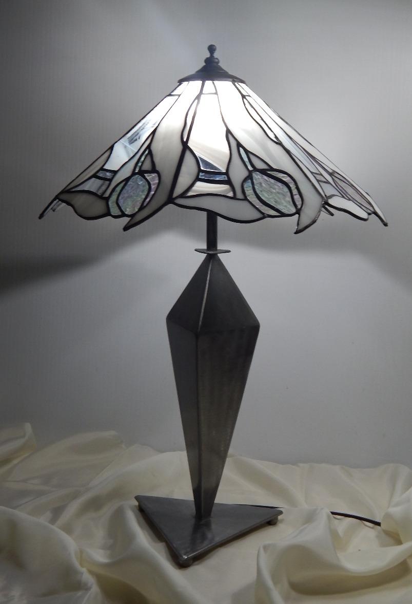 Candeeiro Vitral Mesa Tiffany 1