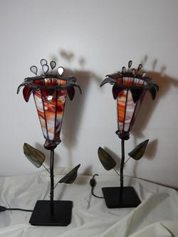 Candeeiro Tiffany Coroa de Rei