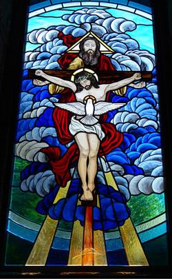 Vitral Santíssima Trindade