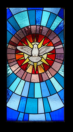 Vitral Espirito Santo