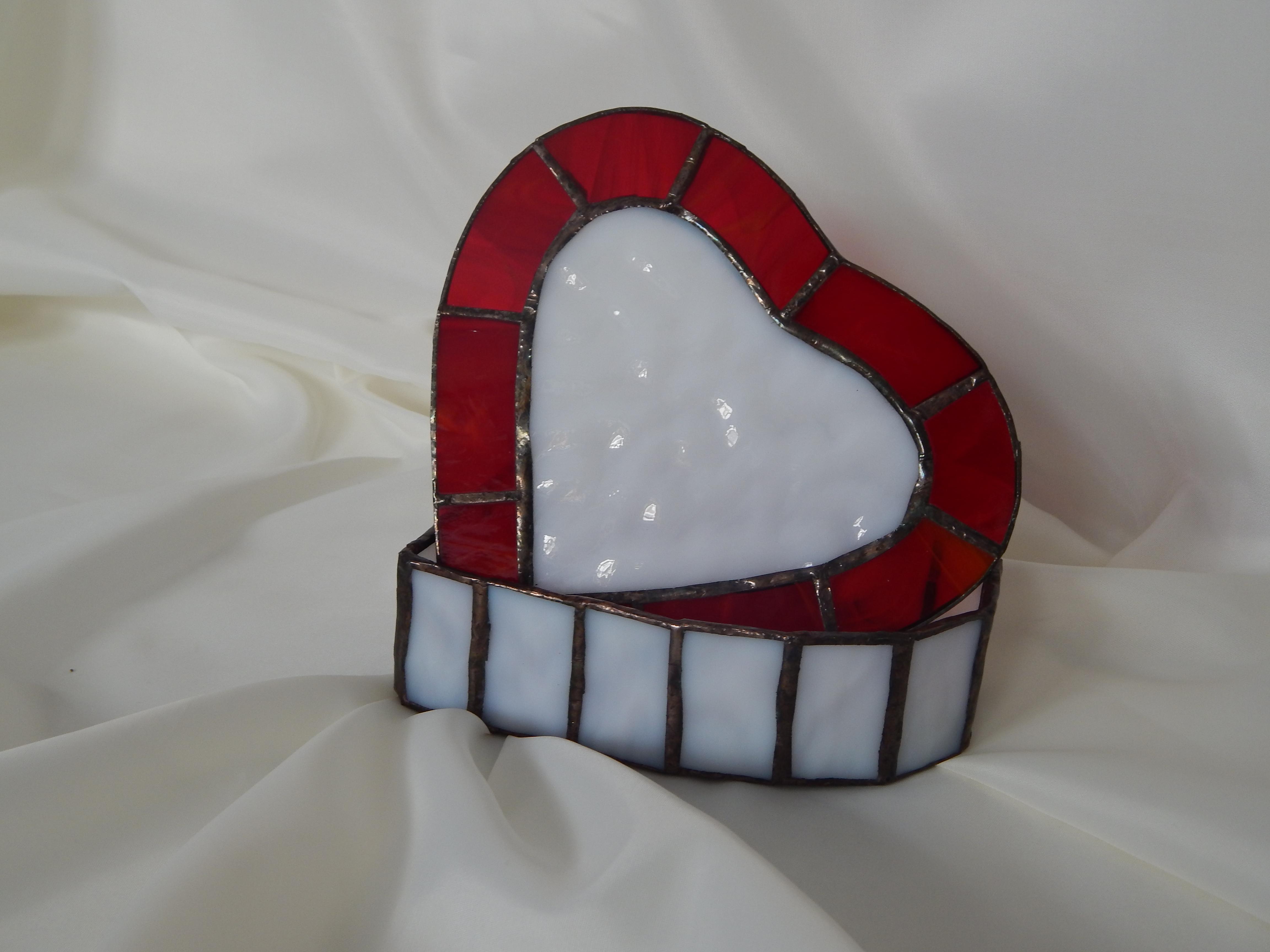 Caixa Rubi Vitral