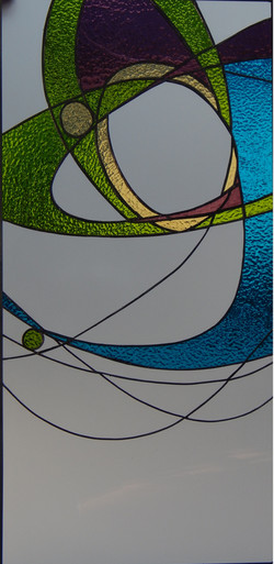 Vitral Abstracto