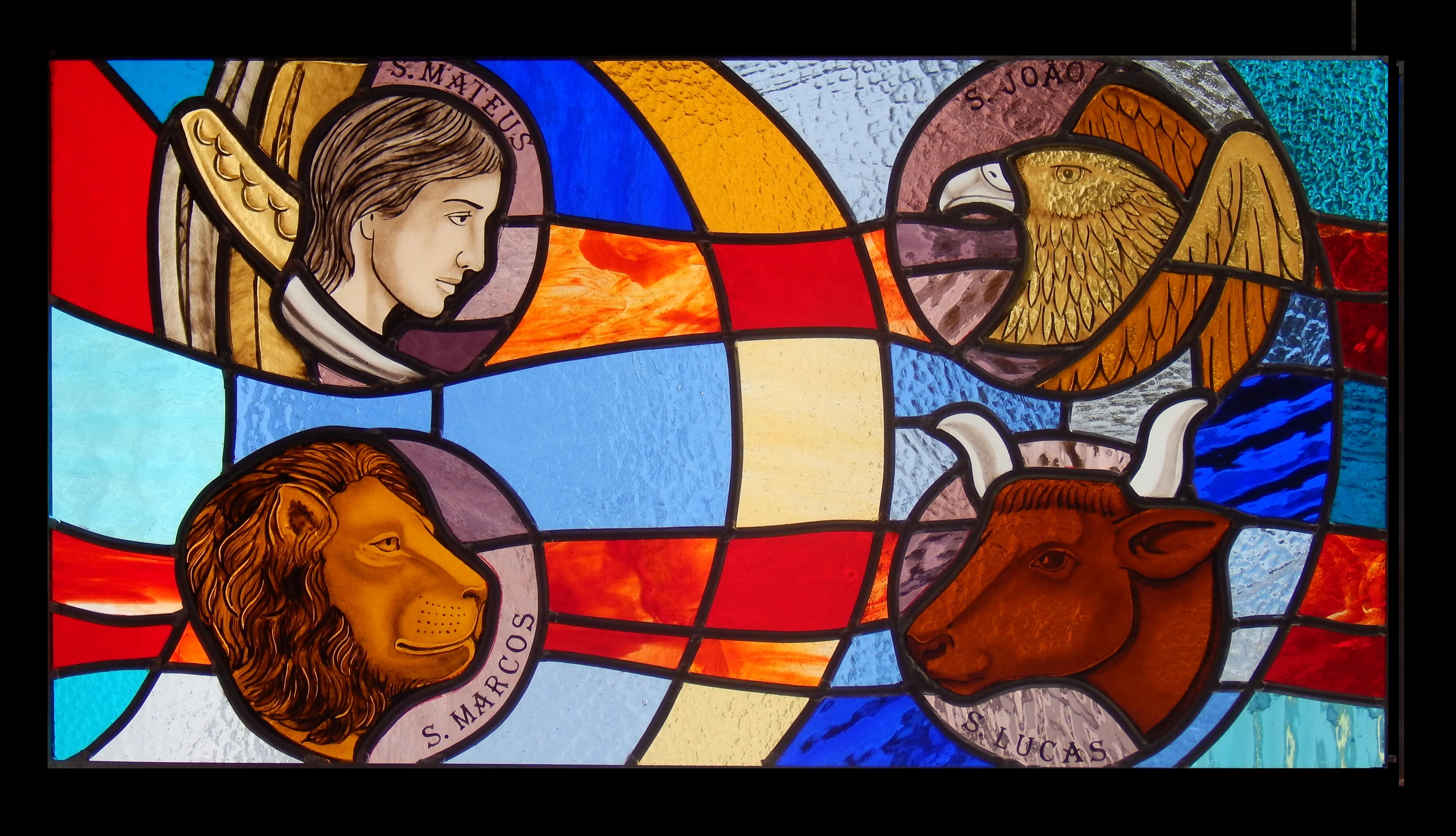 Vitral Quatro Evangelistas