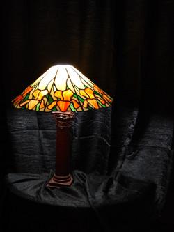 Candeeiro Vitral Mesa Tiffany 3