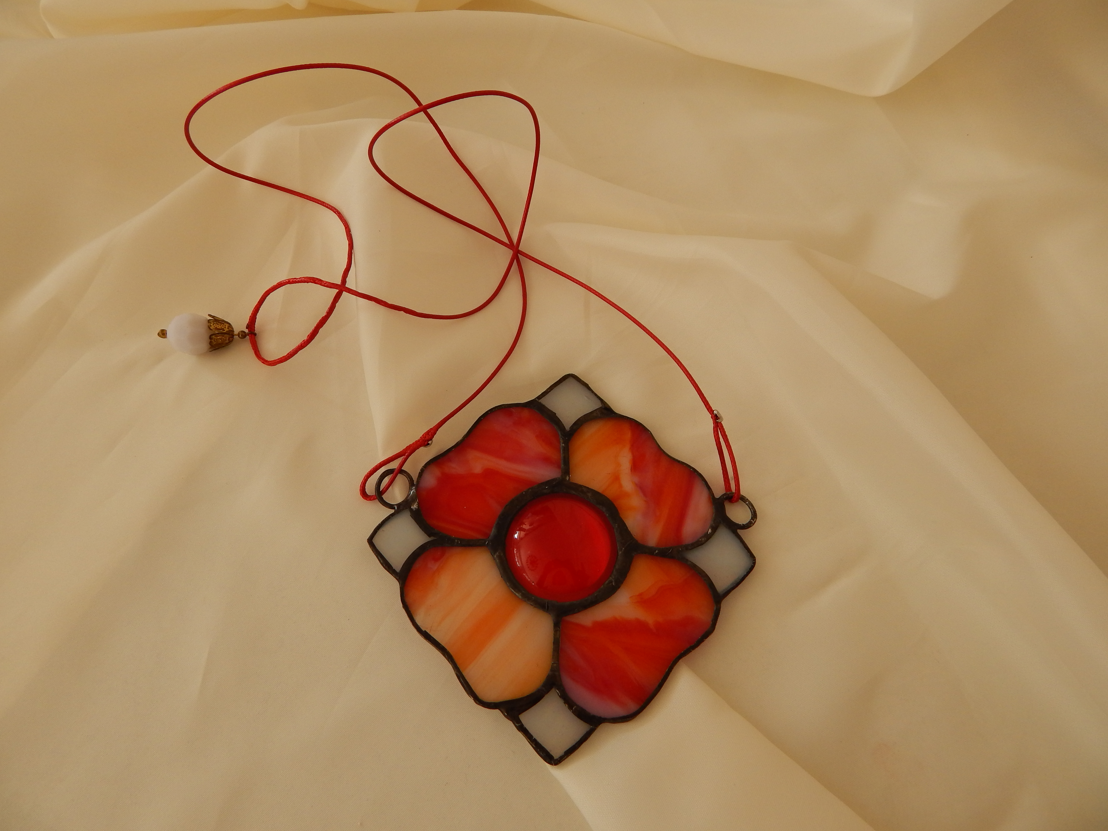 Flor Fogo Vitral 12,5€