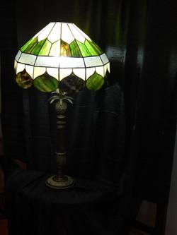 Candeeiro Vitral Mesa Tiffany 2
