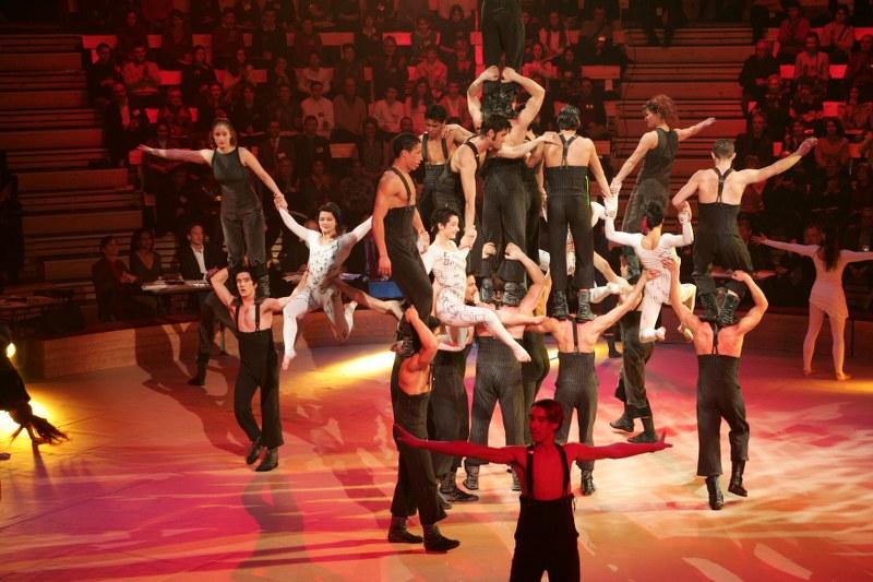 Costume d'acrobates et aériennes