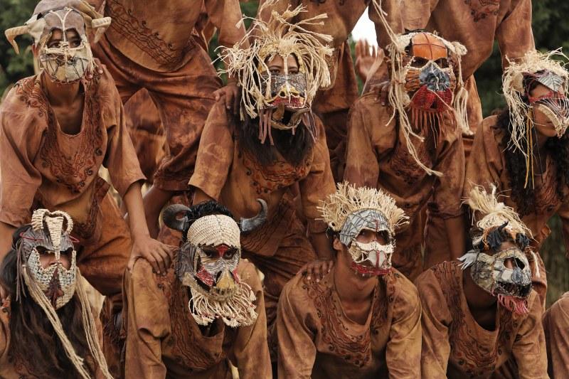 Masques et costumes