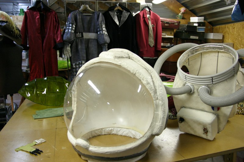 Accessoire du cosmonaute