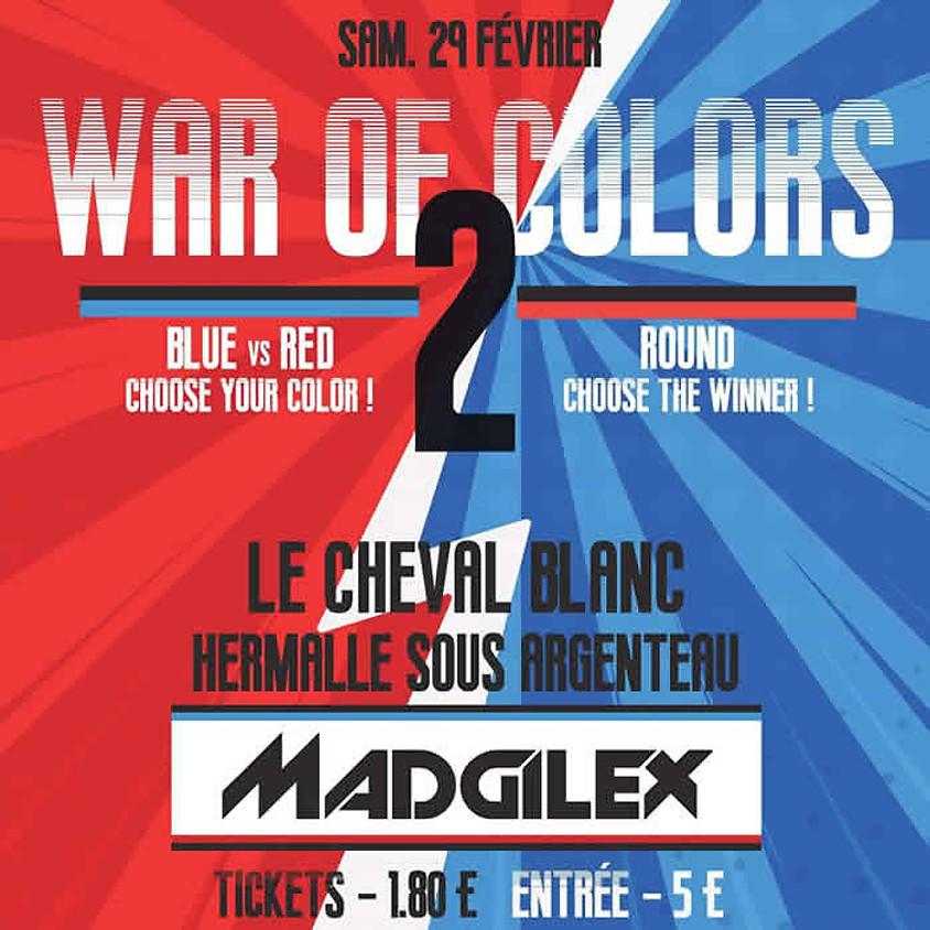 WAR OF COLORS 2 - ROUGES VS BLEUS