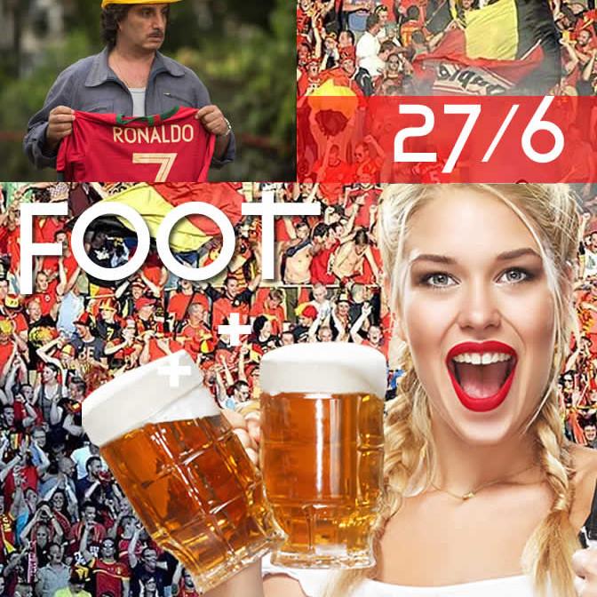FOOOOT : Belgique - Portugal sur écran géant