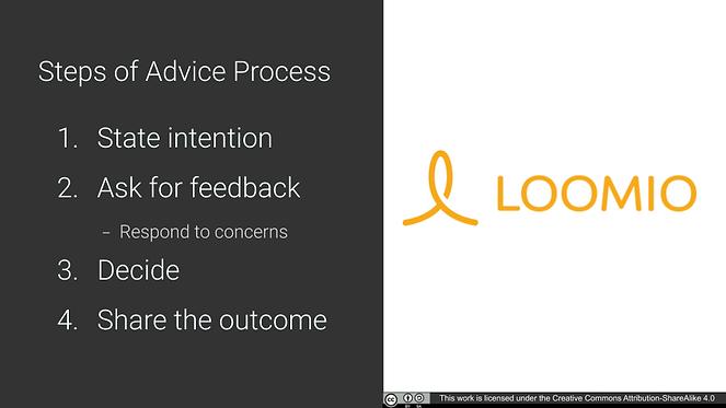 Loomio Advice process