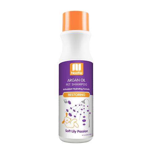 Restoring Argan Oil Shampoo – Soft Lily Passion – 16 oz.