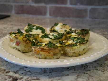 Mini Quiche Recipe - #JourneytoHealth