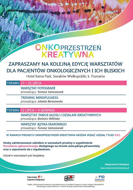 plakat_onkoprzestrzeń_warsztaty_2019_NEW