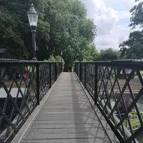 footbridge over the river Cam.webp
