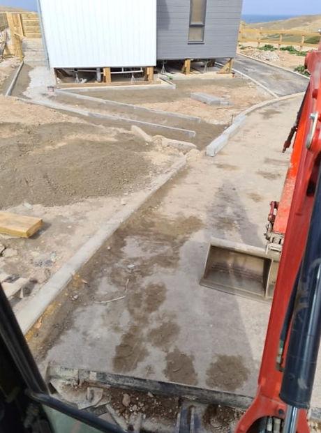 groundworks in progress