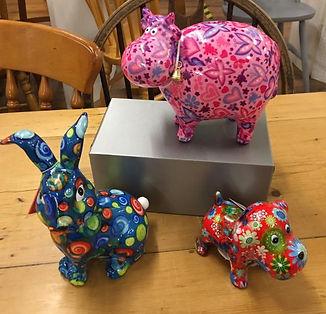 Pomme Pidou Vibrant Ceramic Money Box