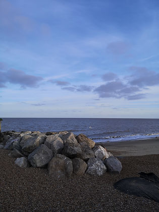 Felixstowe beach. Probably best known as