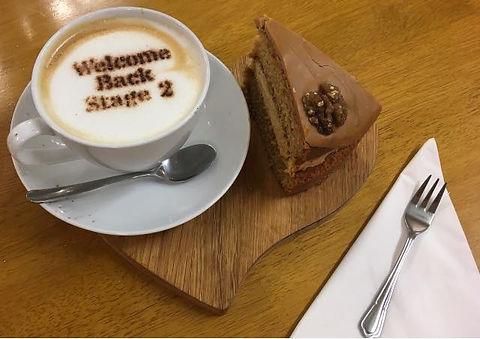 welcome back coffee
