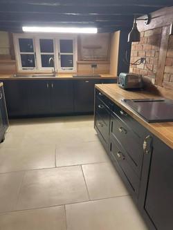 Hand built kitchen