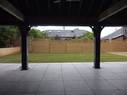 Patio and Lawn