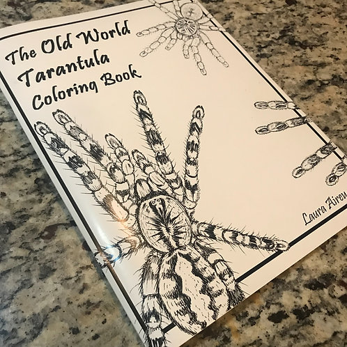 The Old World Tarantula Coloring book