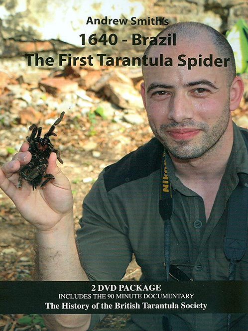 Andrew Smith's 1640 - Brazil The First Tarantula Spider