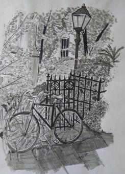 A09 | Bicycle at St. Edward's Church