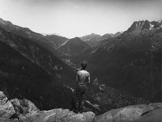 P13   Patrick in the Alps