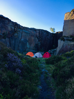 P14   Camping: It's in-tents