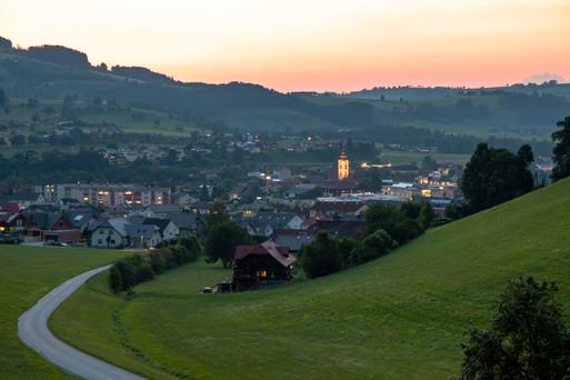 P16   Ternberg at sunset