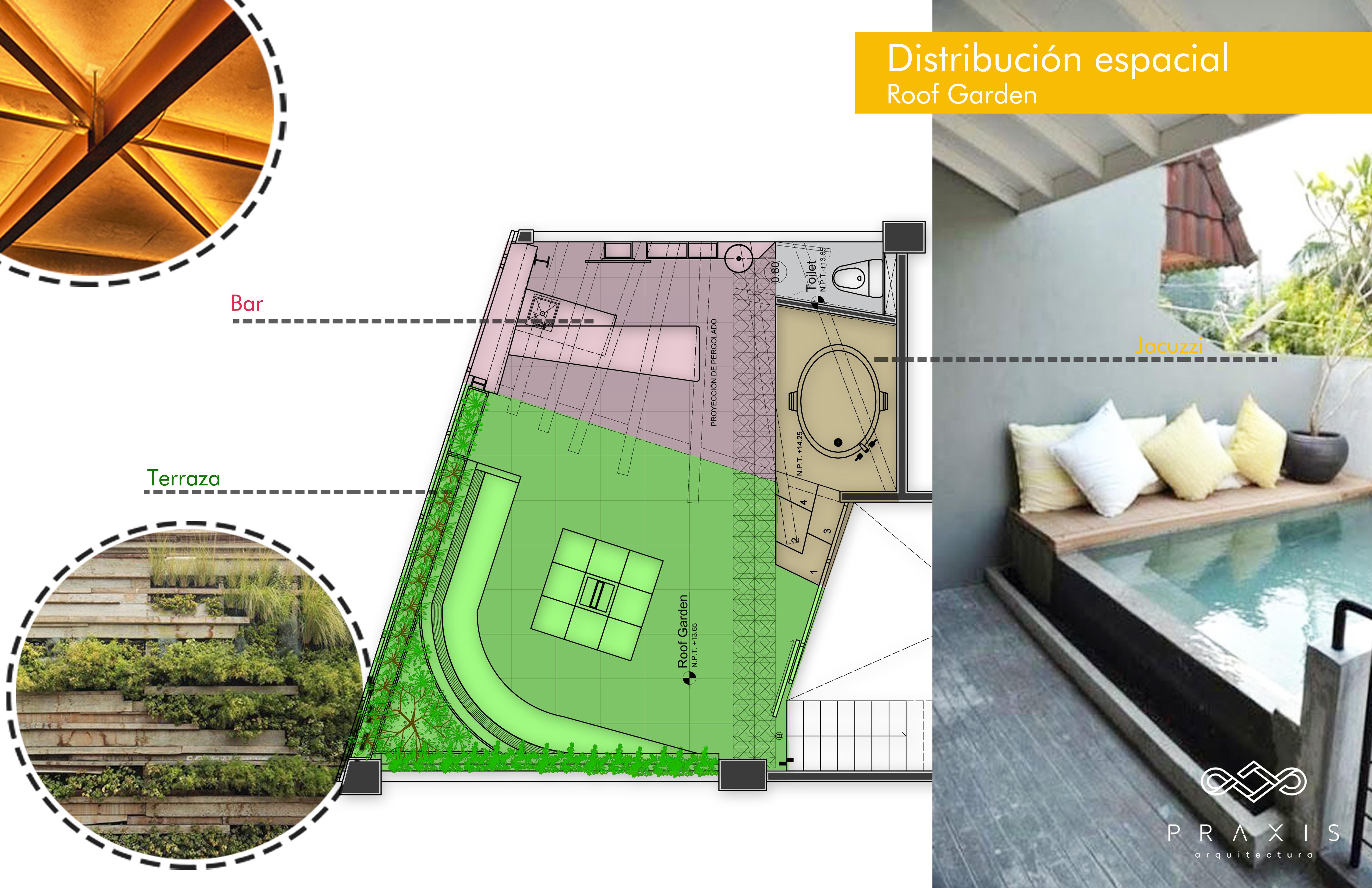 Roof Garden // Distrito Saint Peter