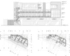 Planos - Residencia estudiantil de uso mixto