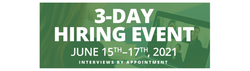 3 Day Hiring Event