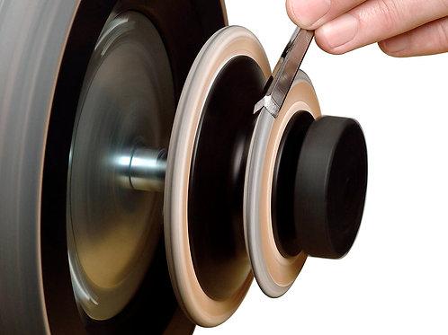 Tormek LA-120 Profiled Leather Honing Wheels